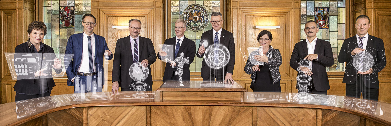 Le Conseil d'Etat fribourgeois 2018 - Der Freiburger Staatsrat 2018