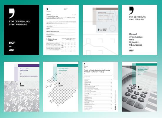 Principales publications officielles
