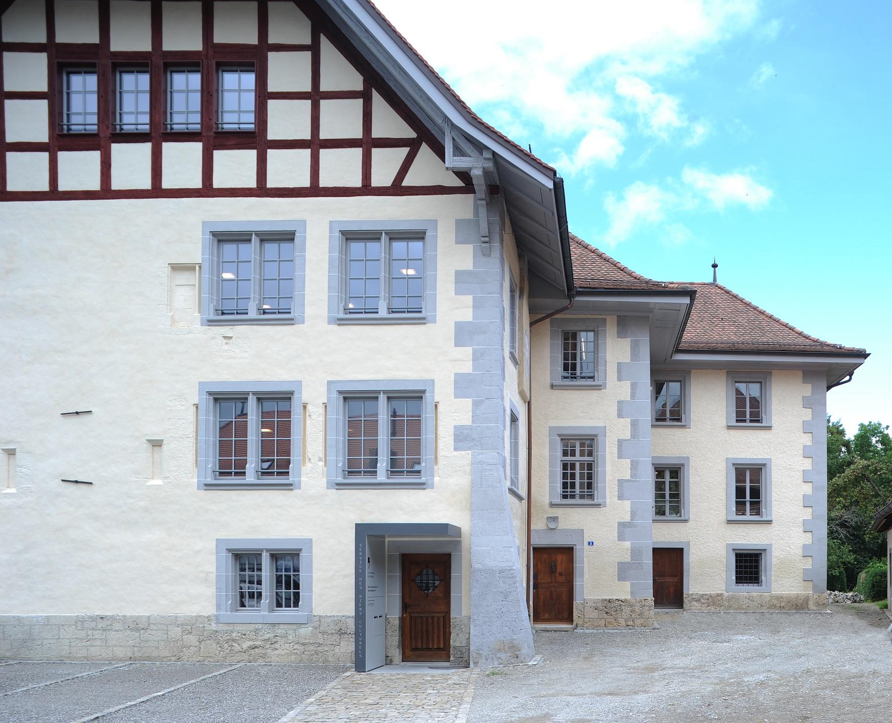 Entrée du Service des biens culturels, Planche Supérieure 3, 1700 Fribourg