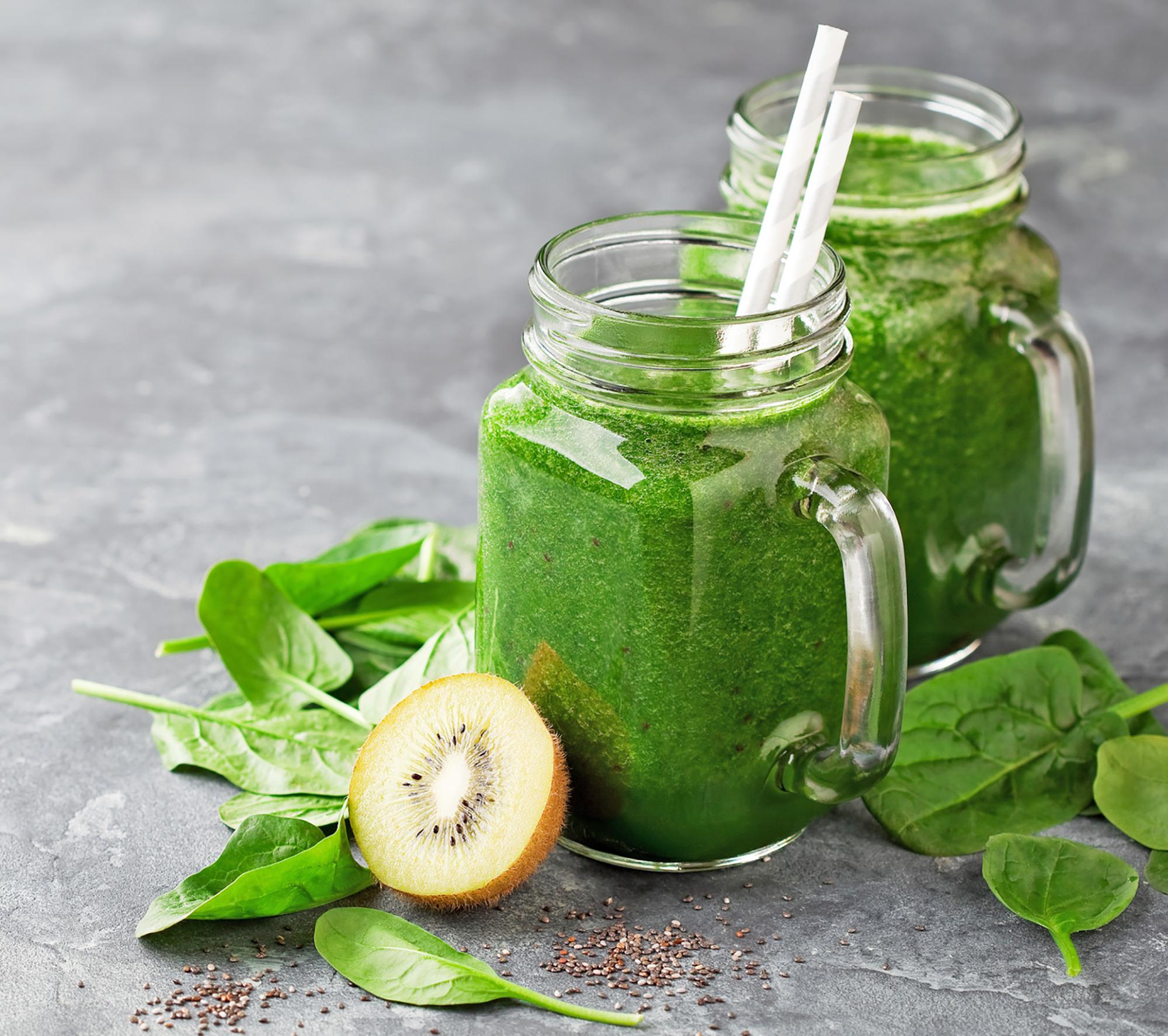 Smoothie énergie verte