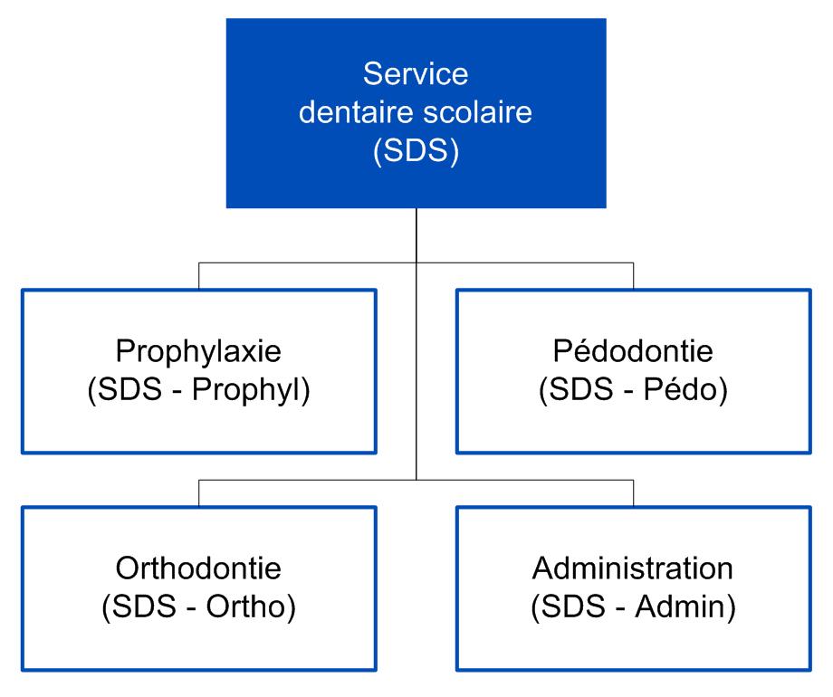 Organigramme SDS
