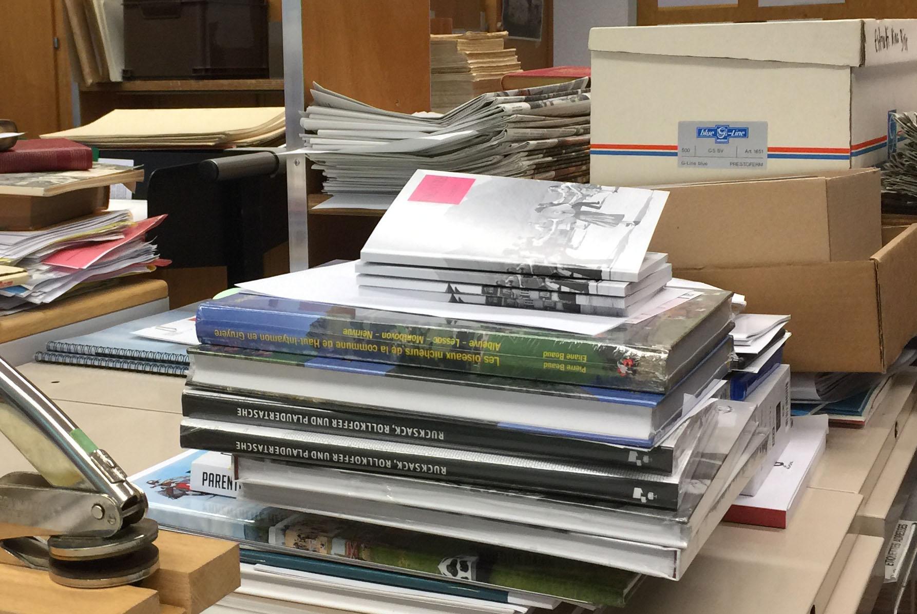 Dépôt légal à la Bibliothèque cantonale et universitaire de Fribourg