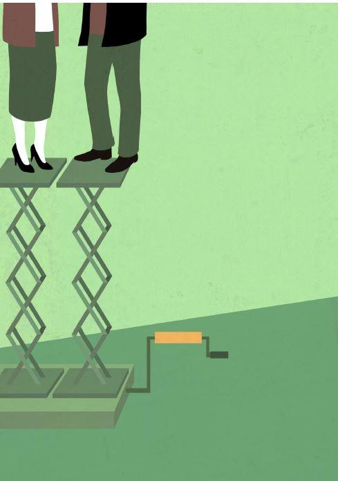 Plan für Gleichberechtigung für Frau und Mann