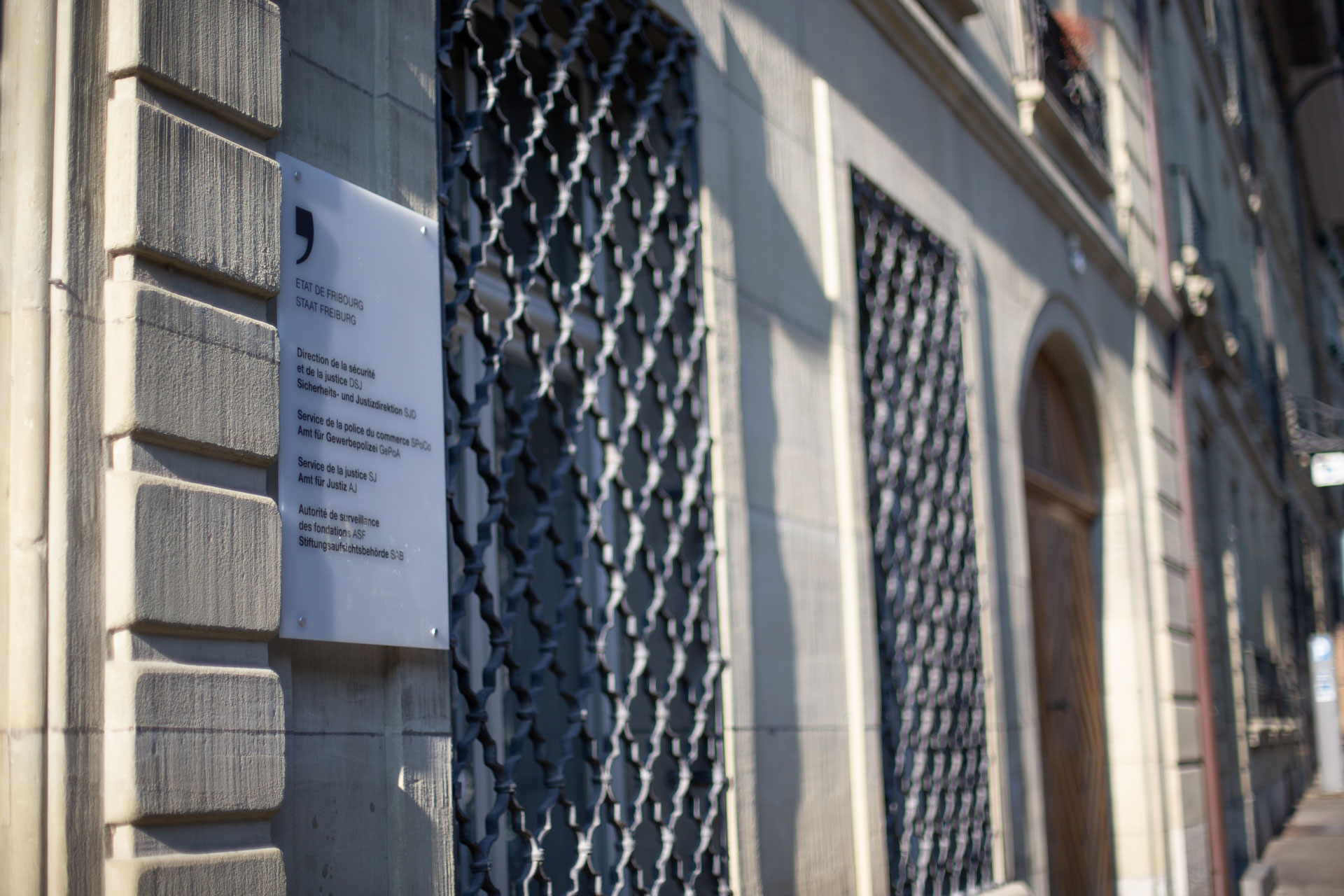 Sitz der Sicherheits- und Justizdirektion