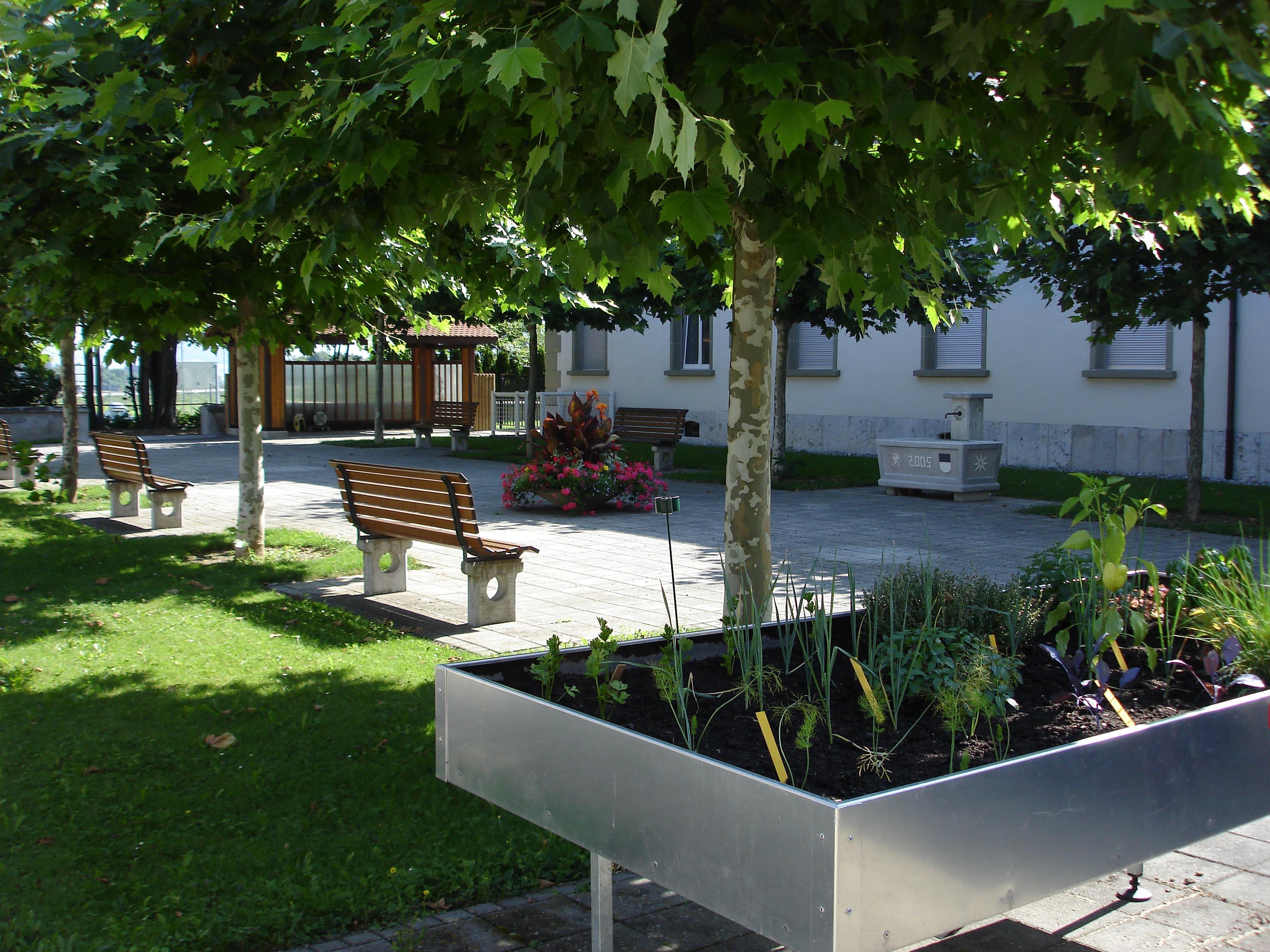 Jardins du centre hospitalier de Marsens