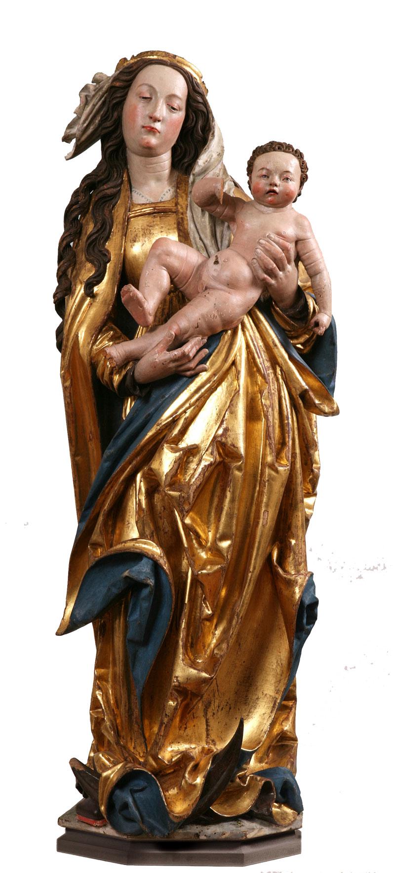 Atelier Hans Geiler, Vierge à l'enfant, 1515