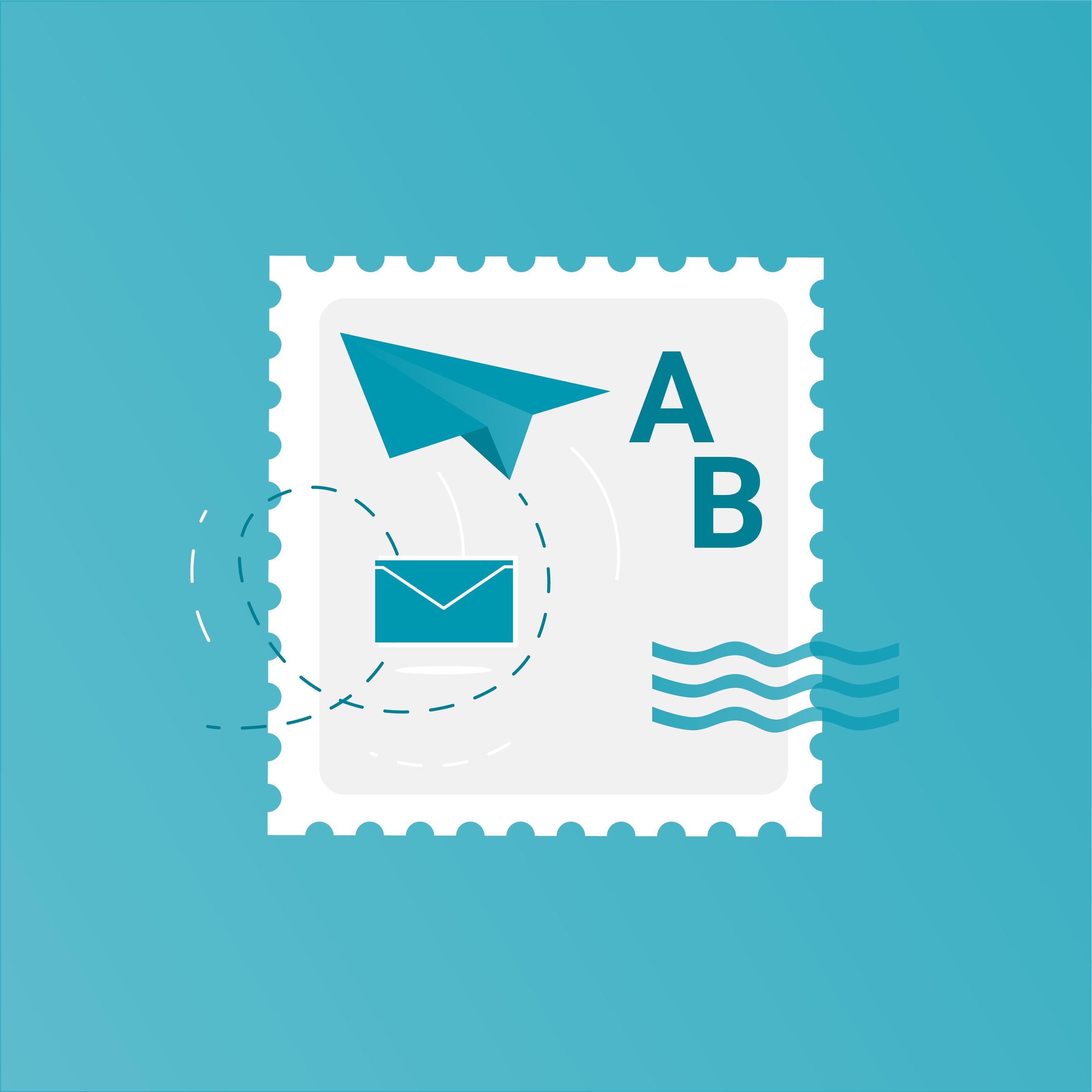 Illustration Briefliche Stimmabgabe