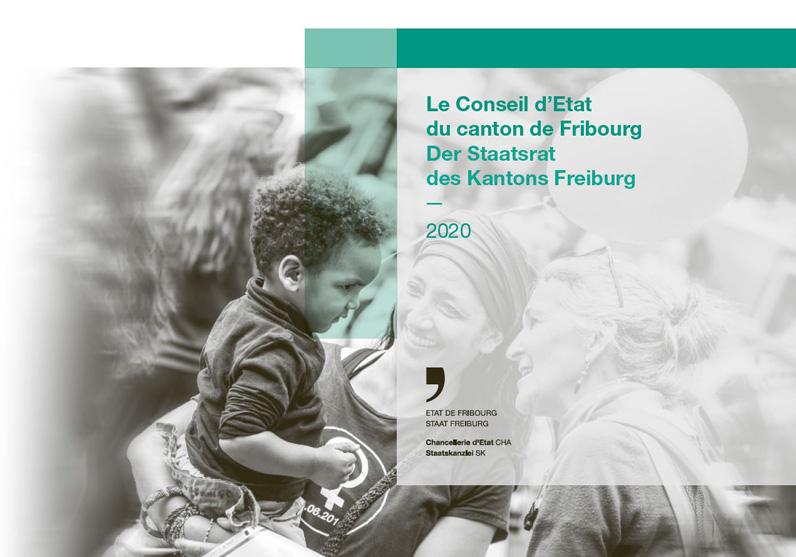 Umschlag Präsentationsbroschüre Staatsrat 2020