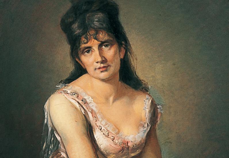 Marcello, Portrait de Berthe Morisot, 1875