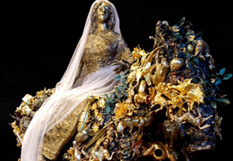 Niki de Saint Phalle, La mariée à cheval, SKKG, 1997. IV_DE