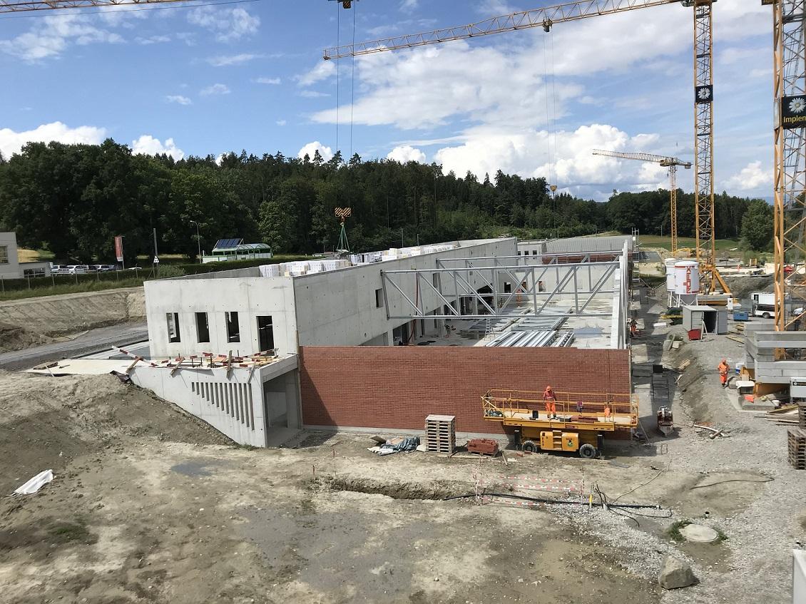 Avancée de la construction Courtepin - Baufortschritt in Courtepin