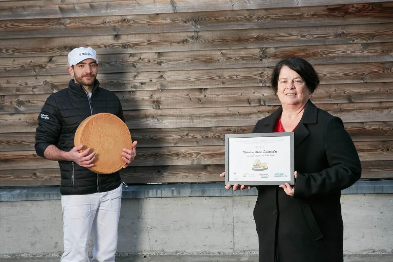 Remise des distinctions aux producteurs dont le Vacherin Fribourgeois AOP et le Gruyère AOP