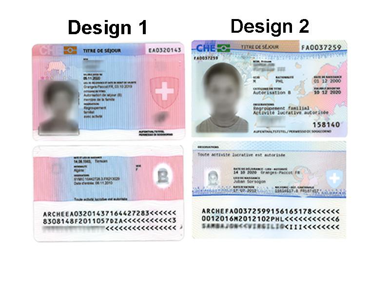 Die biometrische Karte
