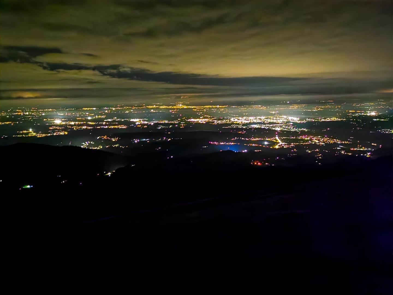 Blick auf Freiburg vom Käsenberg aus
