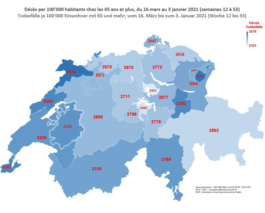 Carte_Décès par 100'000 habitants chez les 65 ans et plus_du 16 mars au 3 janvier 2021 (semaines 12 à 53)