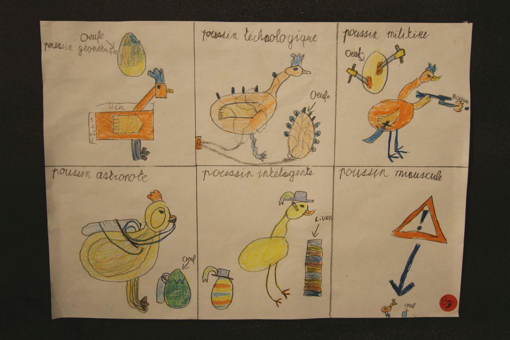 Dessin de Jamie Carrard, lauréat des 7-9 ans
