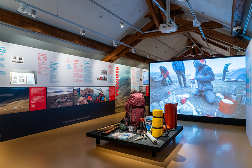 Expedition Spitzbergen - Blick in den Ausstellungssaal