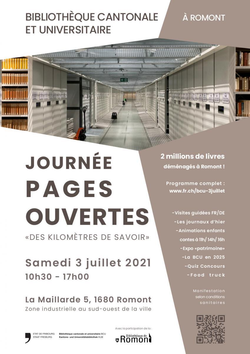 Journée Pages ouvertes, 3 juillet