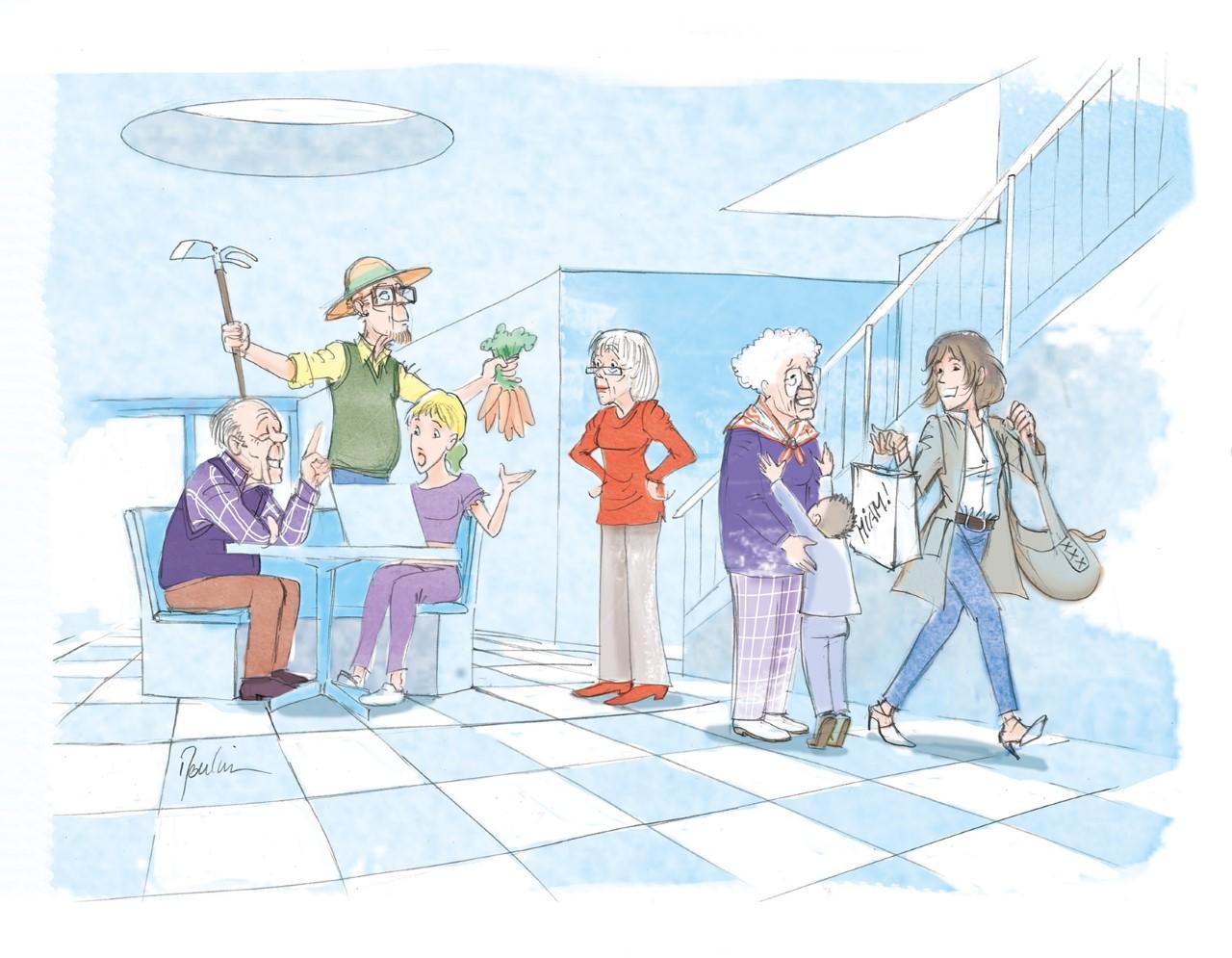 Senior+ generationsübergreifende Projekte