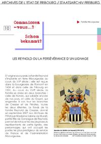 10 : Les Reynold ou la persévérence d'un lignage
