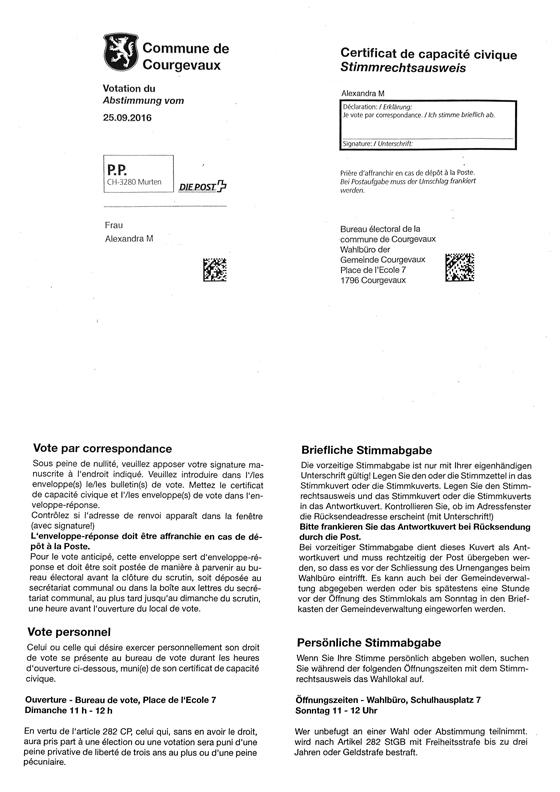 Le certificat de capacité civique
