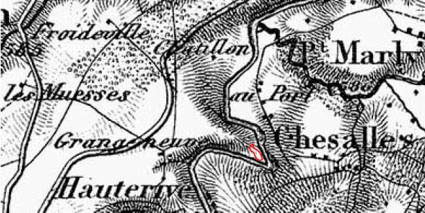 Dufourkarte von 1865