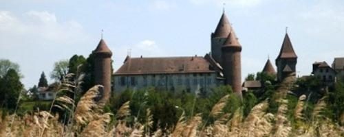 Château de Chenaux, siège de la Préfecture de la Broye