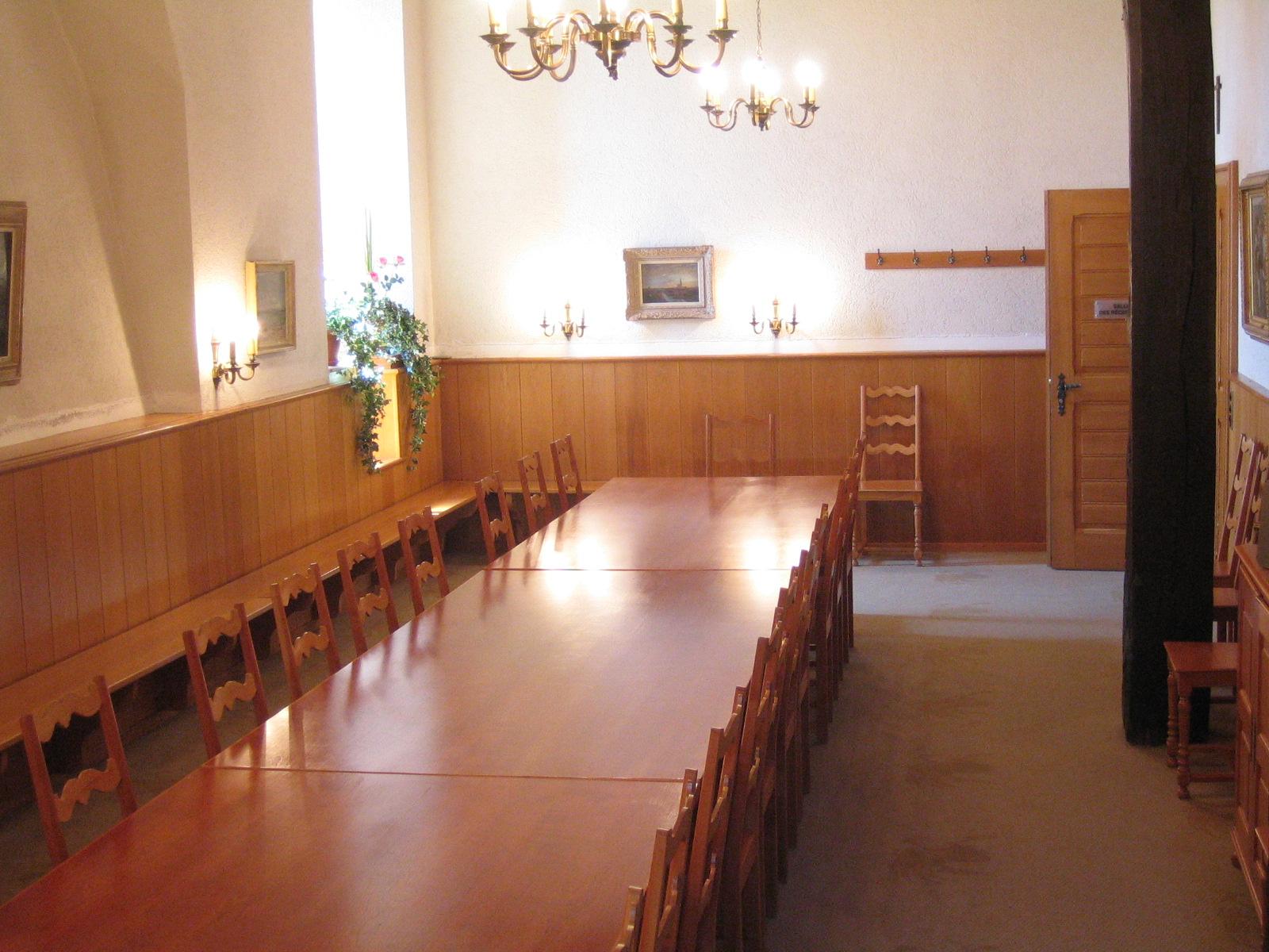 Salle des réceptions du château de Bulle- Empfangsraum Schloss Bulle