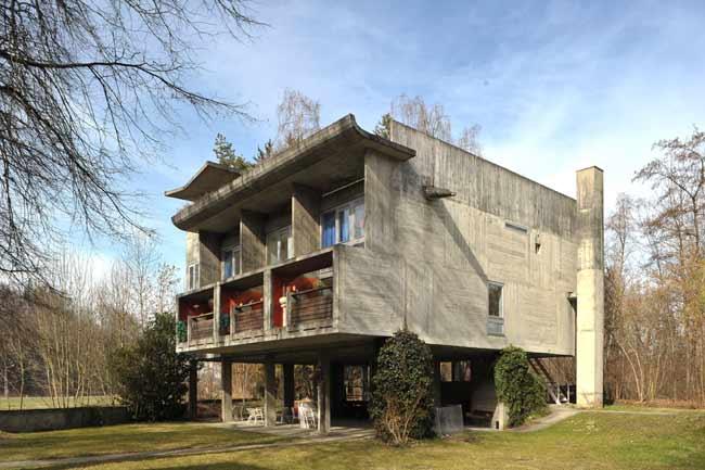 Mobile architecture contemporaine for Atelier 5 architecture