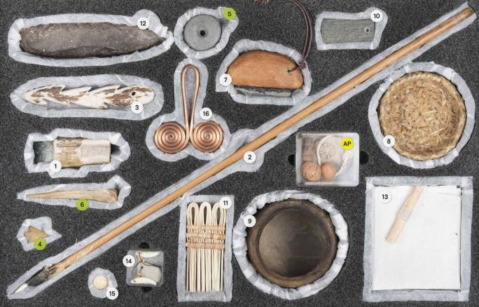 Mallette d'archéologie fribourgeoise : l'Atelier de l'histoire : 2 Le Néolithique