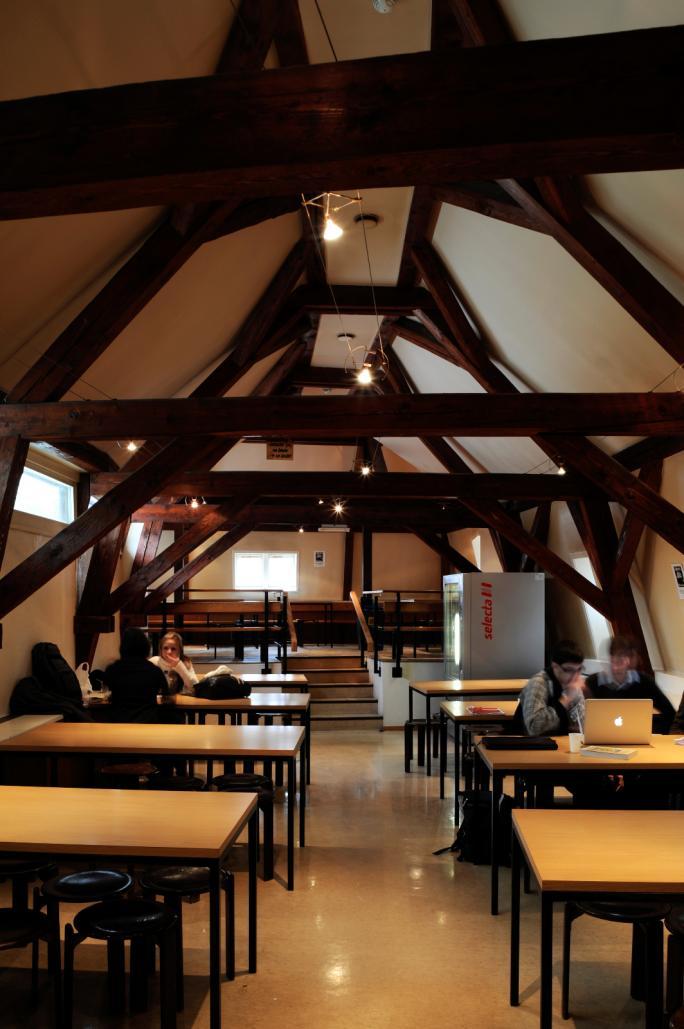 Cafétéria de la Bibliothèque cantonale et universitaire de Fribourg