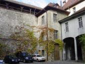 Cour intérieure du Château de Bulle