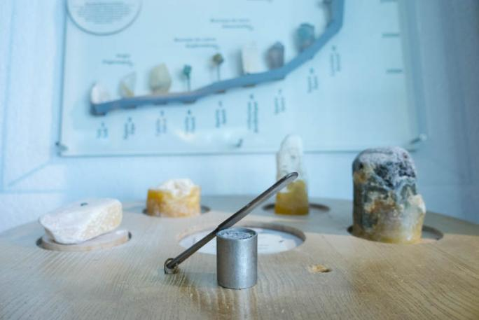 Minéralogie - Table de dureté