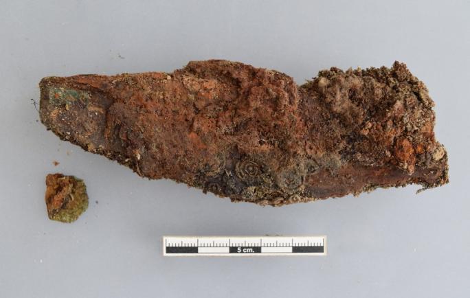 Couteau de la tombe T341