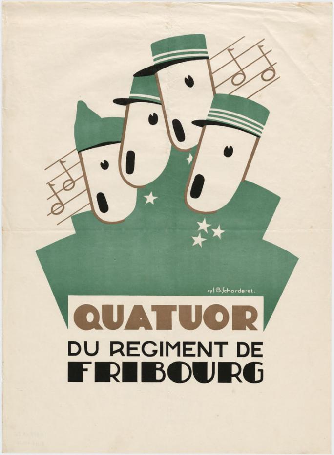 Quatuor du régiment de Fribourg