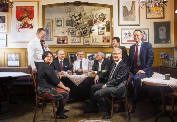 Le Conseil d'Etat fribourgeois 2019
