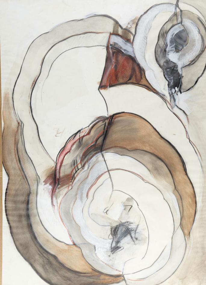 Bruno Baeriswyl, Cycle de dix œuvres sur papier