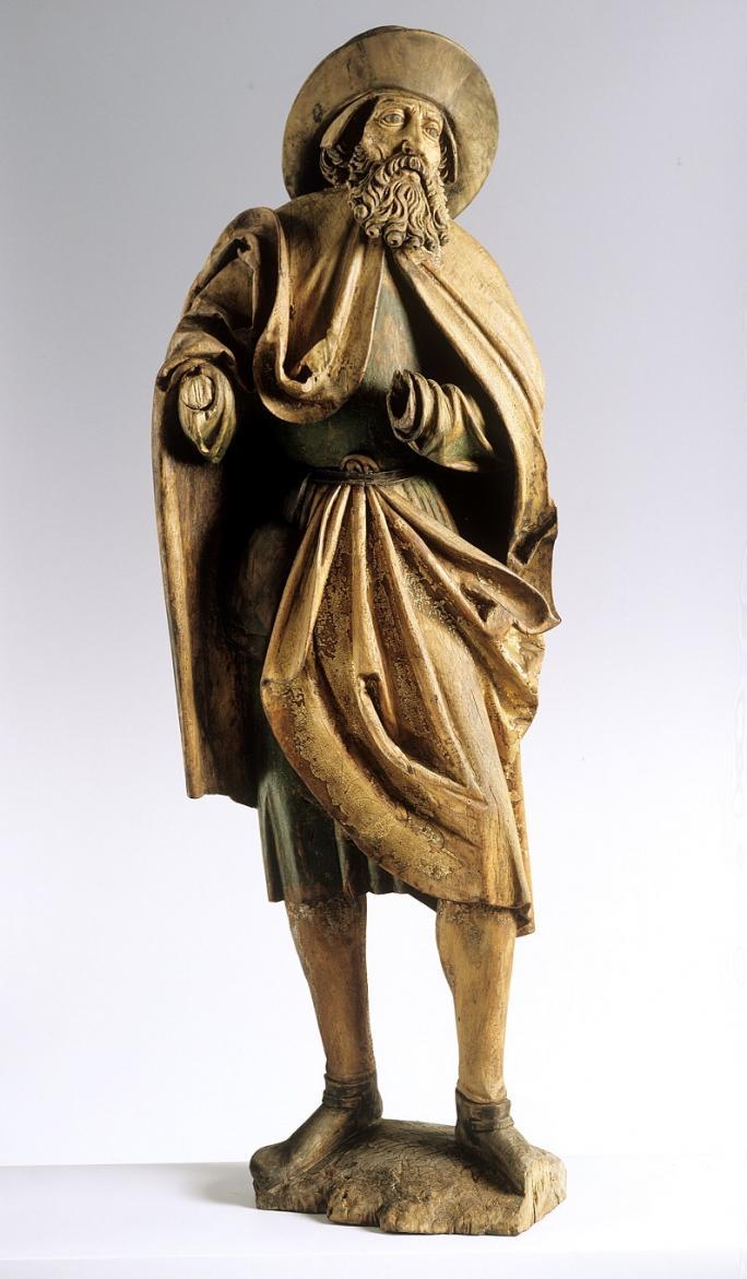 Hans Gieng (Zuschr.), Heiliger Jakobus der Ältere, um 1530