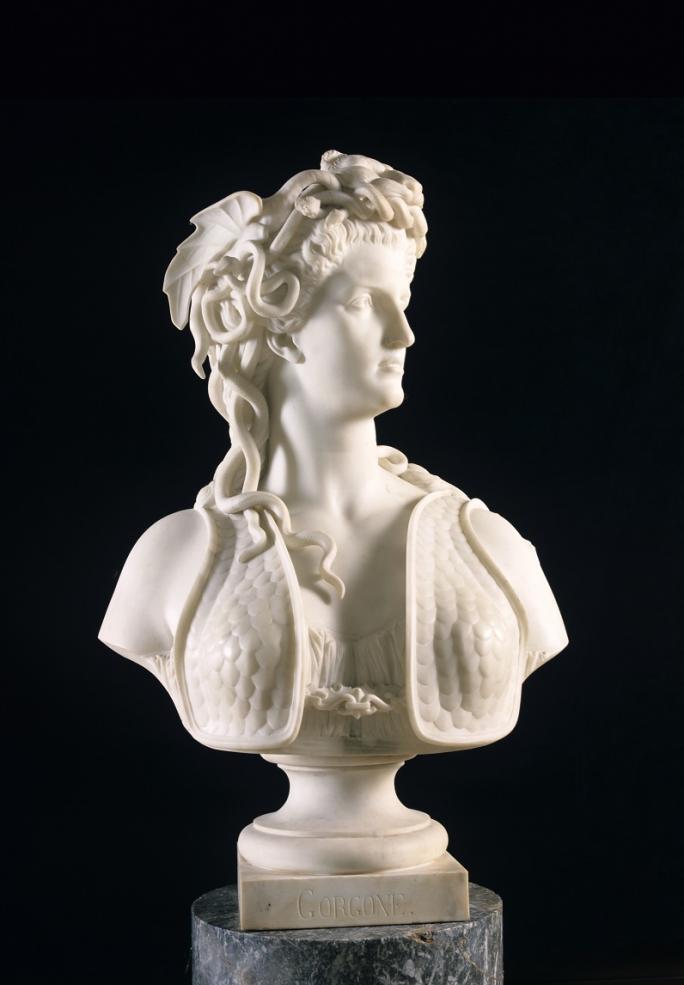 Marcello, La Gorgone Méduse, 1865