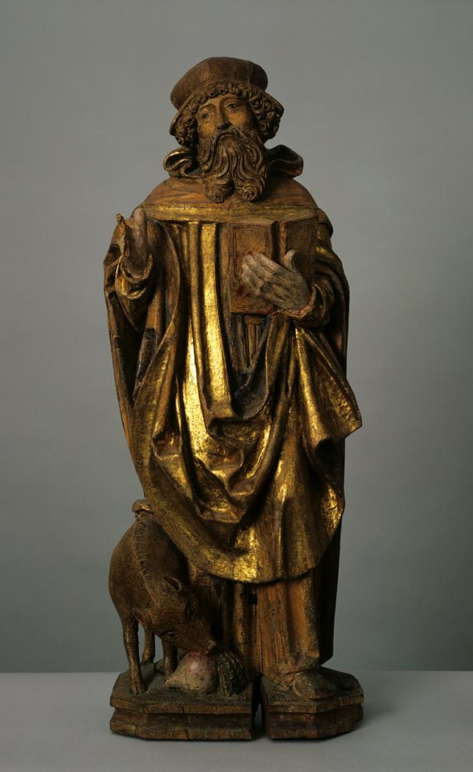 Hans Geiler (Zuschr.), Heiliger Antonius der Einsiedler, um 1525