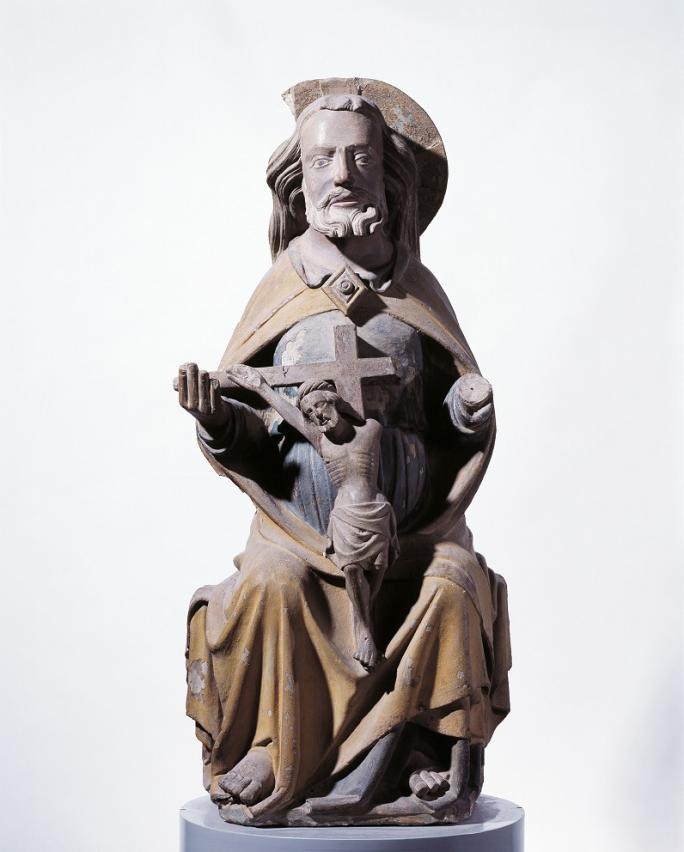 Inconnu, Trône de grâce, vers 1330