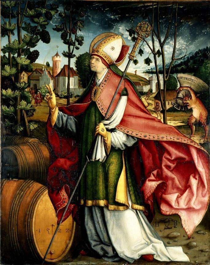 Hans Boden, Saint Théodule, 1522