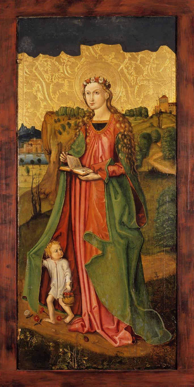 Meister I. B., Heiliger Dorothea, um 1500