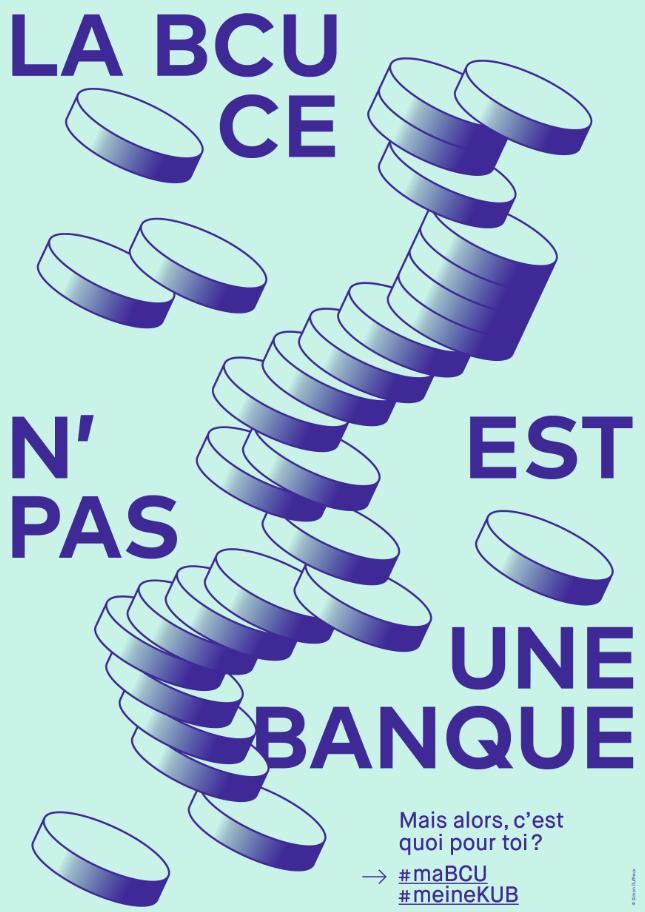 BCU affiche exposition Banque