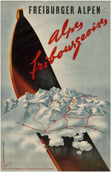 Alpes fribourgeoises - Freiburger Alpen