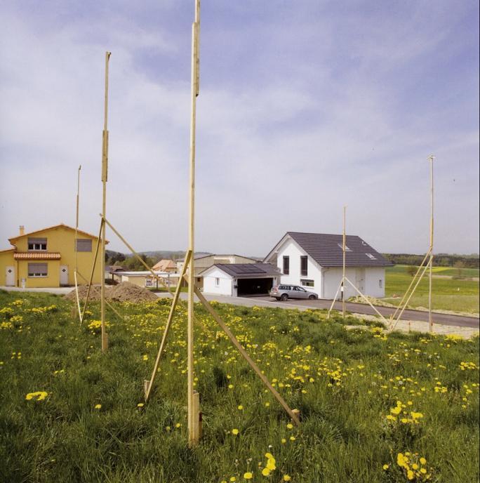 Yves André, Paysages occupés (2007), Cottens