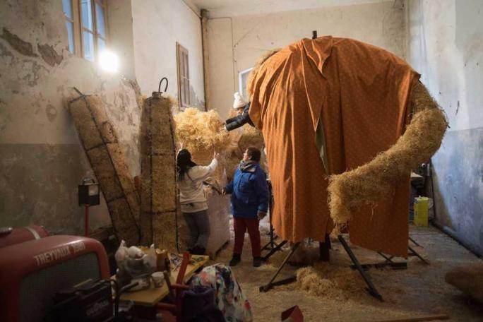 Coulisses du Carnaval des Bolzes 2017, Rababou