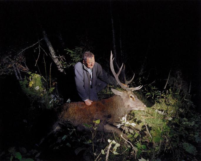 Anne Golaz, Jagden (2009), La mort du cerf (Fribourg)