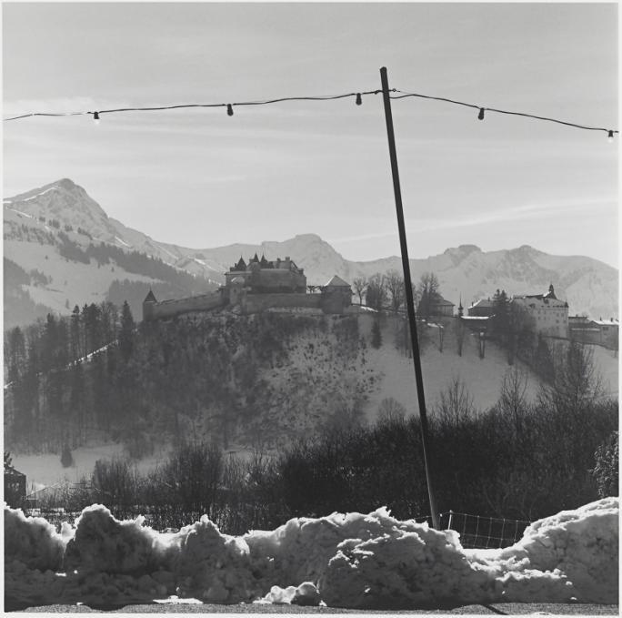 Marco Paoluzzo, Paysages fribourgeois (1997), Château de Gruyères