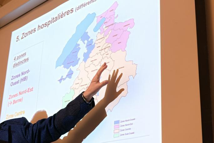 Marc Renaud, Dossier hospitalier (2013), Séance de la Commission de planification sanitaire, Direction de la santé et des affaires sociales